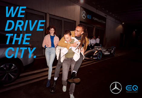 Mercedes Formula E -  Production Location Casting -  Cem Günes - 2020  Berlin